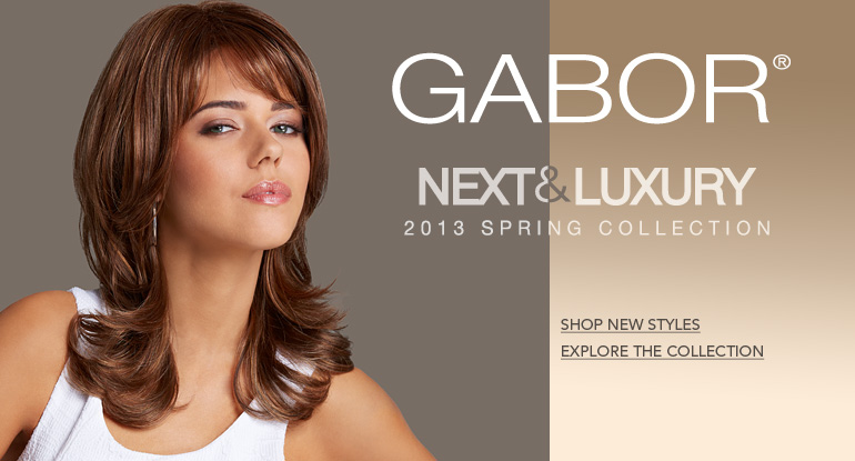 Discover the Spring 2013 Gabor Wig Collection