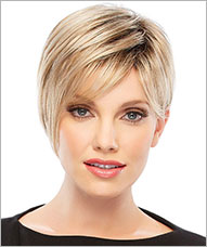 Blunt-banged short bob capless wig - Nicki by Jon Renau Wigs